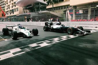 F1: Fotókon a monacói Rosberg-invázió