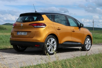 Renault Scénic, új kis turbómotorral