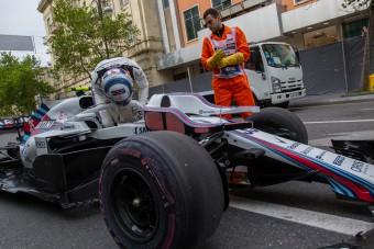 F1: Besült a Williams próbálkozása