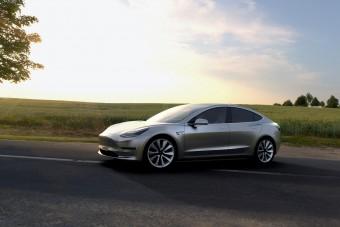 Pofont kapott a Tesla Model 3