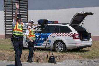 Tízezer gyorshajtót fogtak egy hét alatt a magyar rendőrök