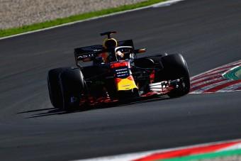 F1: Verstappené az első tesztnap
