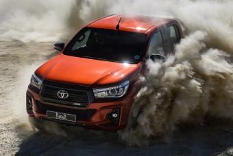 Elkészült a Toyota Hilux tereprali-kiadása