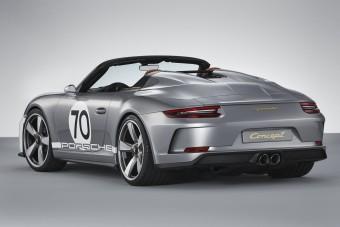 Visszatér a Porsche puritán klasszikusa