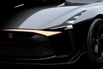Aranyozott Nissan GT-R az Italdesigntól
