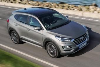 Jön a dízel hibrid Hyundai Tucson