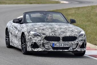 Gyári kémfotókon suhan a vadonatúj BMW Z4