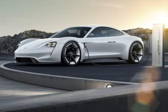 Porsche Taycan: jövőre érkezik az elektromos GT