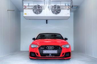 Valami nagyon extrém történik a győri Audinál