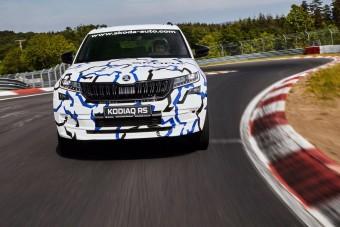 Új rekordot állított fel a Škoda a Nürburgringen