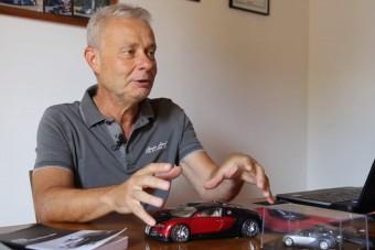 Ő az, aki 400 km/óránál dobta el a Bugatti Veyront