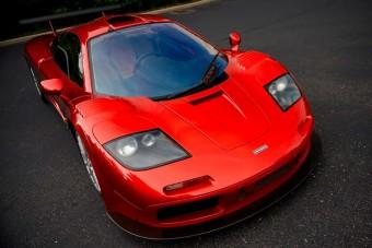 Rengeteg pénzt ért a roppant ritka McLaren F1