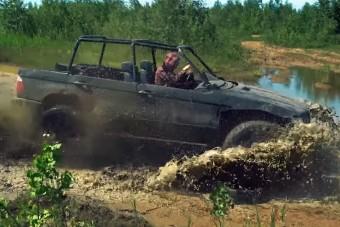 Zsombékjáró szörnyeteg lett ez az X5-ös BMW