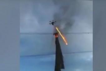 A lángszórós drónnál ma már nem látsz jobbat