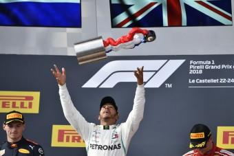 Hamilton: Ez az eddigi legjobb Francia Nagydíjam
