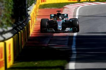 F1: Hamilton nem próbálhatta ki a leggyorsabb gumit
