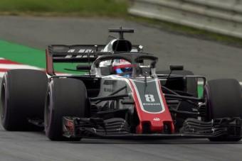 F1: Ismét villantott a Haas, büszke a csapat