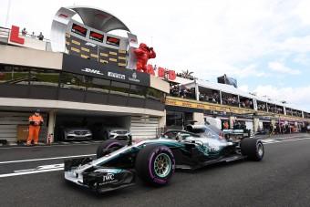 F1: Hamiltoné a pole Franciaországban