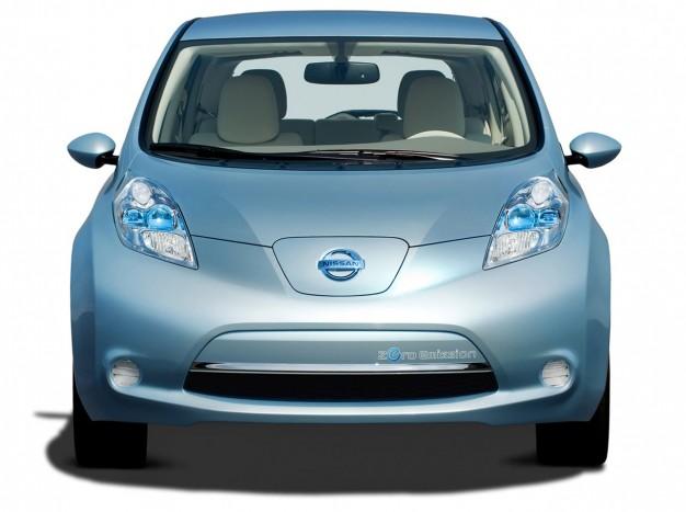 Már nemcsak jó, hanem szép is a Nissan Leaf 4