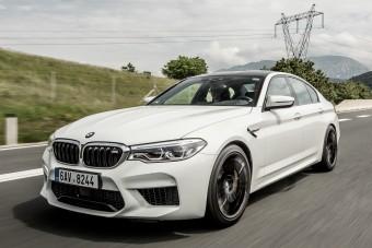600 lóerő még BMW-ből is sok!