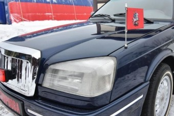 Ritka orosz limuzin bukkant fel