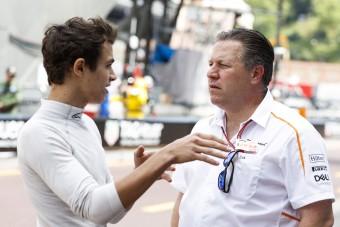 F1: Több csapat is rárepült a McLaren-pilótára