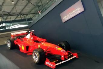 F1: Látogatható Schumacher magángyűjteménye