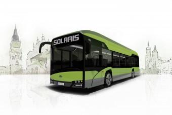 Vízgőzt pöfögő buszon dolgoznak a lengyelek