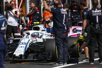 F1: Így tévedt el Szirotkin a bokszutcában – videó