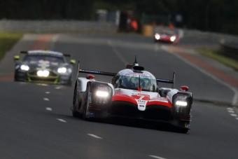 A Toyota a mezőny ura Le Mans-ban