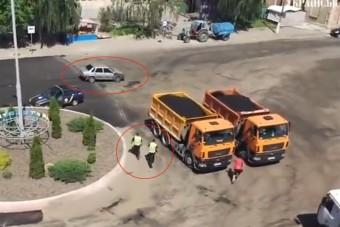 Nevetséges és drámai, ahogy a rendőrök üldözik ezt a sofőrt