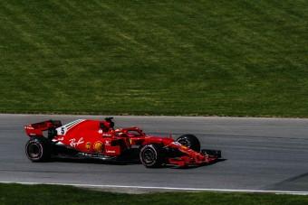 F1: Vettel pályarekorddal hozta a pole-t