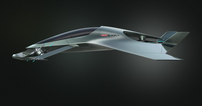 Repülő luxusautót tervezett az Aston Martin 4