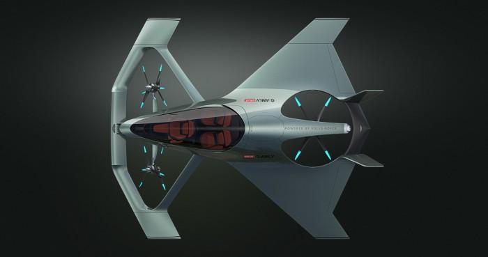 Repülő luxusautót tervezett az Aston Martin 6