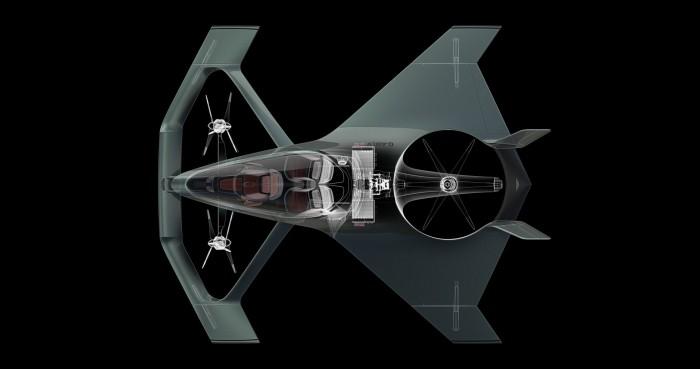 Repülő luxusautót tervezett az Aston Martin 7