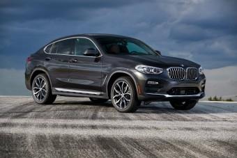 Több mint kétszáz új fotón a vadonatúj BMW X4