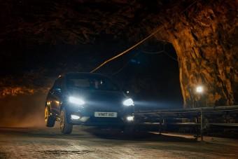 A föld alatt száguldott a Ford Fiesta ST