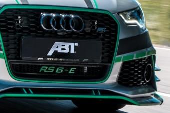 Eszement 1000 lóerős Audi RS6 hibrid az ABT-től