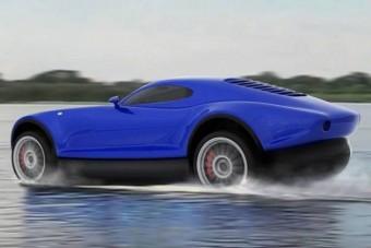 Vízen járó szupersportkocsi Oroszországból