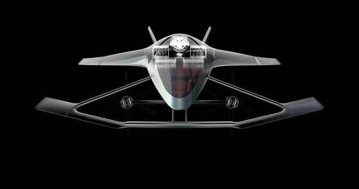 Repülő luxusautót tervezett az Aston Martin 3