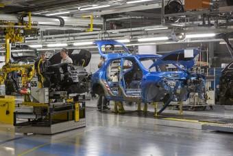 Áprilisban 197 autót gyártottak Nagy-Britanniában