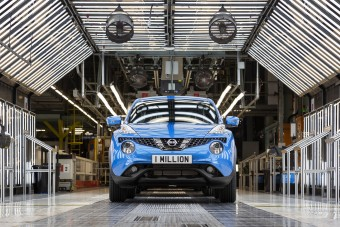 Megvan az egymilliomodik Nissan Juke