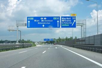 Ausztriában 159-cel döngethetsz büntetlenül