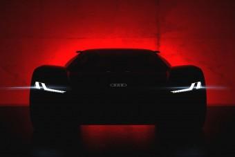 Rejtélyes sportautót mutat be az Audi