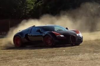 Ezt a Bugatti Veyront sem féltik a csapatástól