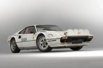 Ritka kincs ez a ralira épített Ferrari 308-as
