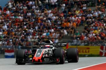 F1: Pofonok után végre örül Grosjean