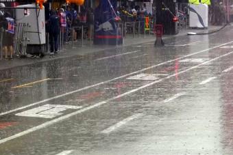 F1: Leclerc-é az esős edzés