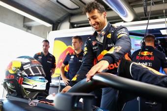 F1: Ricciardóé az első edzés