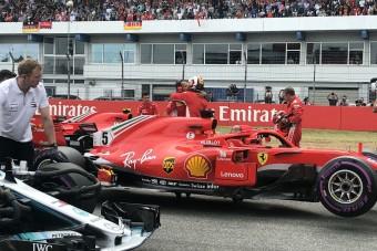F1: Vettel-pole, Hamilton a 14. Németországban